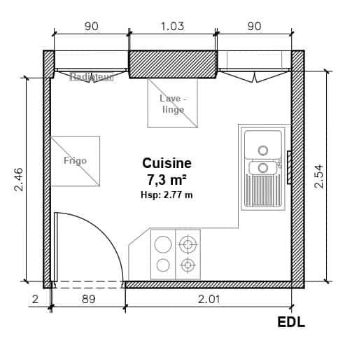 , Projet Cuisine Asnières