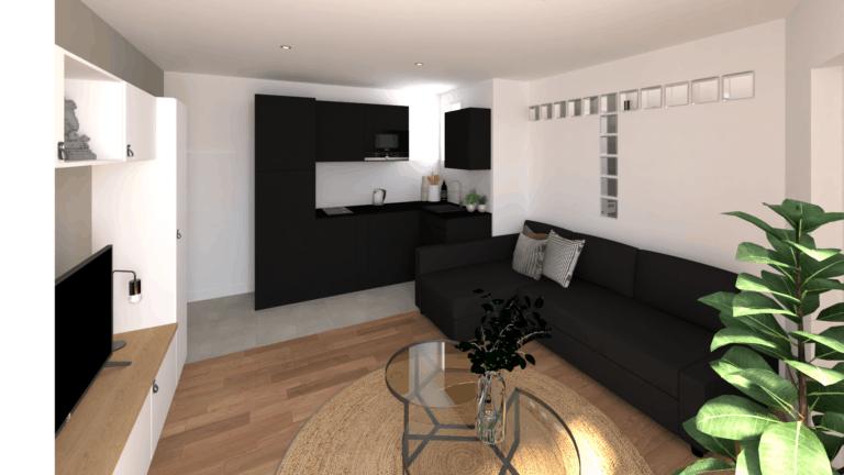 , Projet Appartement Soldi