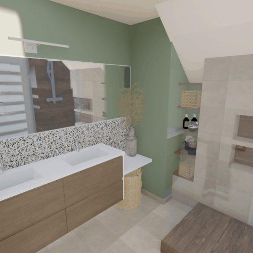, Projet Salle d'eau + buanderie Versailles