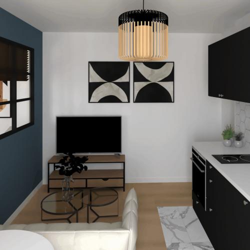 , Projet Appartement Paris 20ème